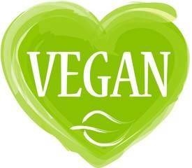 Grafik mit Logo vegane Kosmetik.